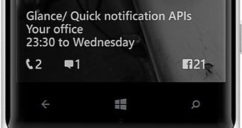 Click image for larger version.  Name:microsoft-updates-glance-screen-for-windows-10-mobile-with-additional-options-new-ui.jpg Views:61 Size:13.5 KB ID:50656