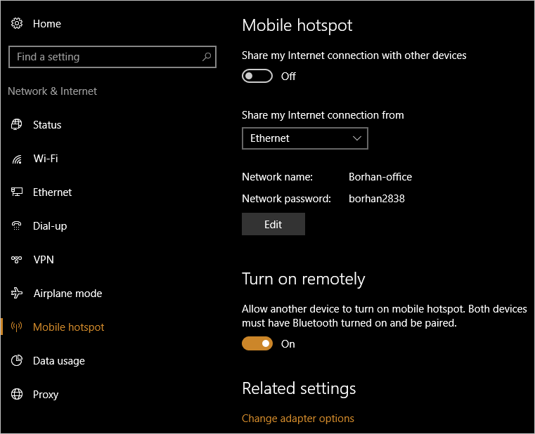 Turn On or Off Mobile Hotspot in Windows 10 | Tutorials