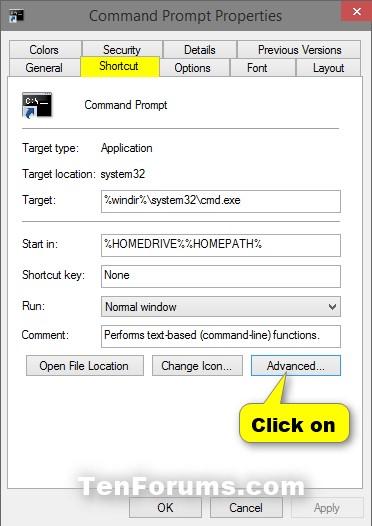 Name:  Shortcut_Advanced_Properties-1.jpg Views: 651412 Size:  48.1 KB