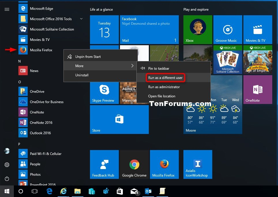 how to add user on windows 10