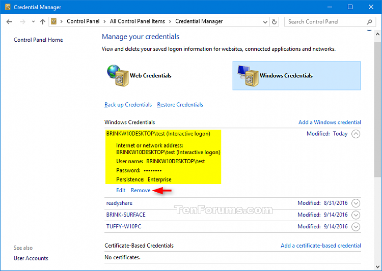 Run as different user in Windows 10-credential_manager.png