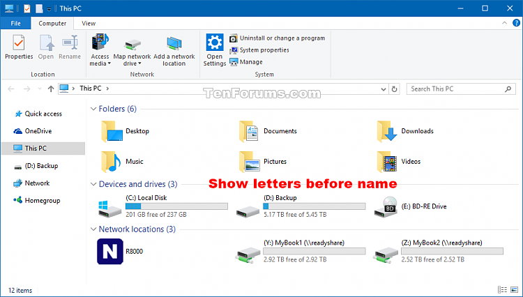 Show Drive Letters Before or After Name in Windows 10-drive_letters_example-2.png