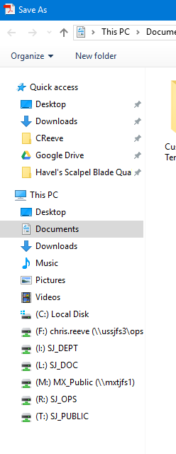 Name:  Save As - This PC Folders.png Views: 90 Size:  16.5 KB