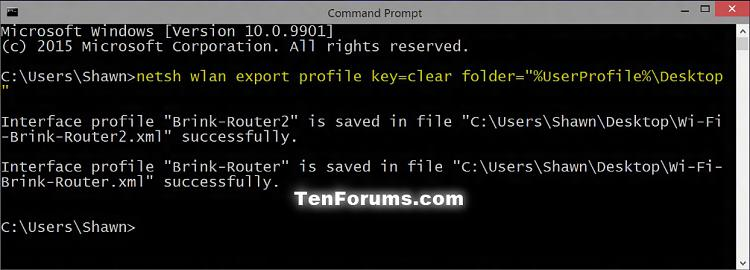 how to change network profiles windows 10