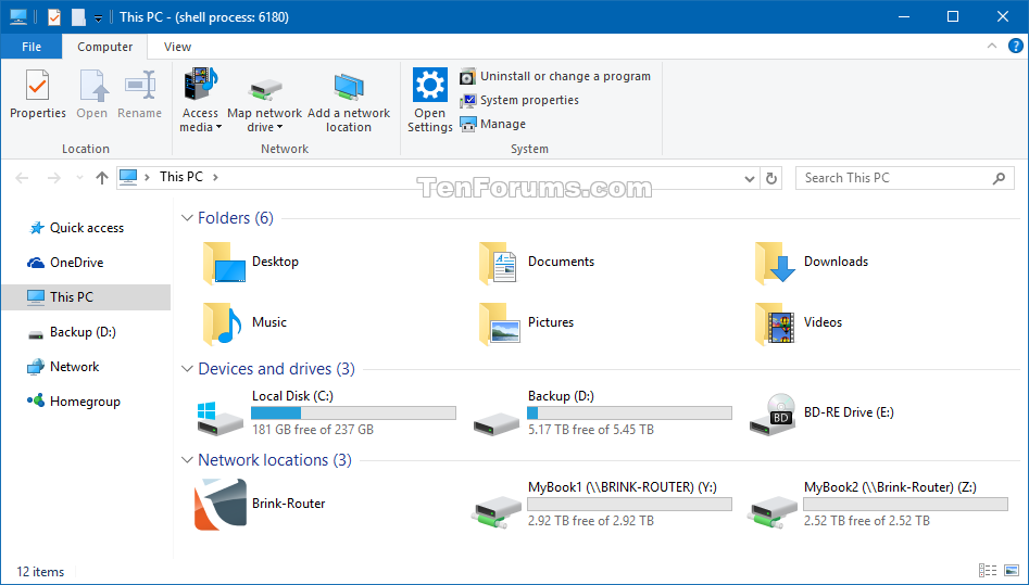 Hide or Show Process ID in File Explorer Title Bar in