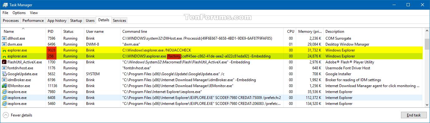 explorer.exe windows 10 download