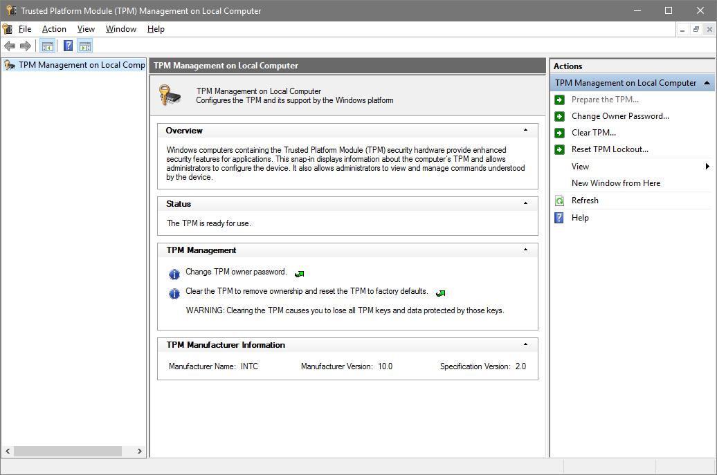 Verify Trusted Platform Module (TPM) Chip on Windows PC | Tutorials
