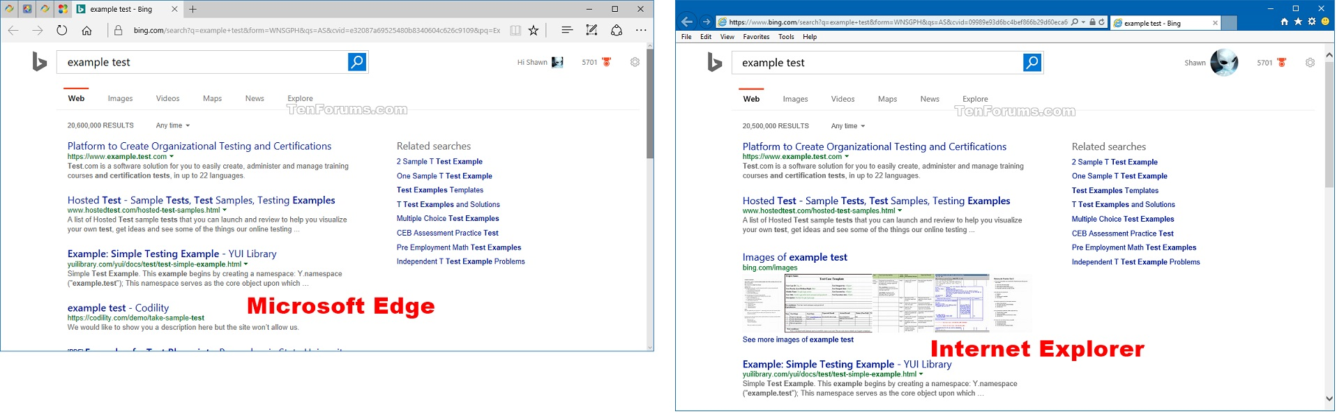 Click image for larger version name web_search_results jpg views 170 size show cortana web search results