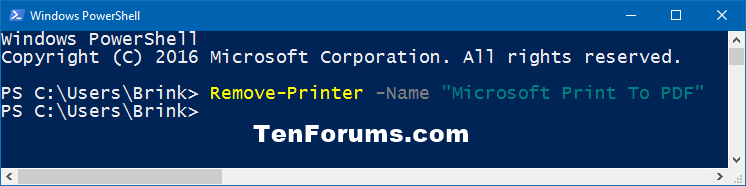 Click image for larger version.  Name:Remove_Microsoft_Print_to_PDF-PowerShell.png Views:27 Size:11.9 KB ID:104682