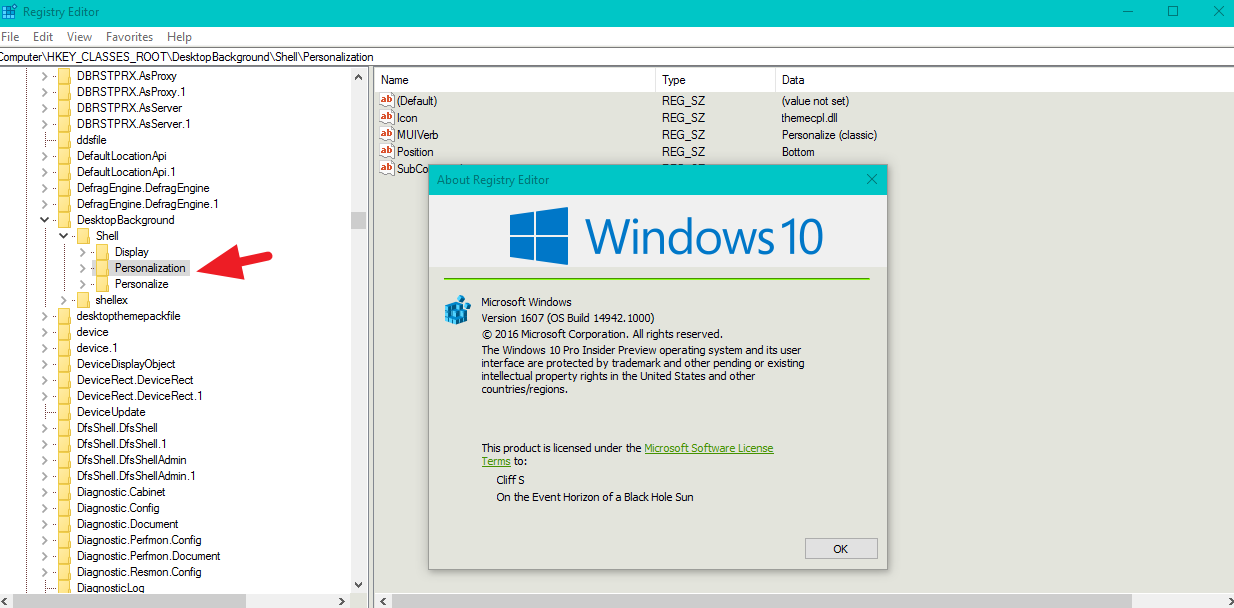 Turn On or Off Address Bar in Registry Editor in Windows 10 - Page 3