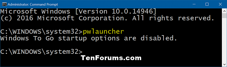 Change Windows To Go Startup Options in Windows 10-windows_to_go_startup_options_command-1.png