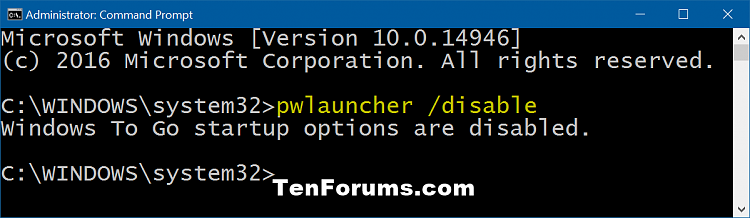 Change Windows To Go Startup Options in Windows 10-windows_to_go_startup_options_command-2.png