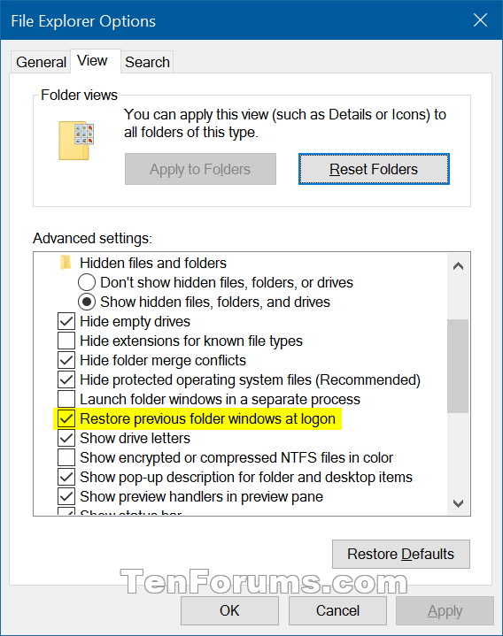 Turn On Restore previous folder windows at logon in Windows 10-restore_previous_folder_windows_at_logon.png