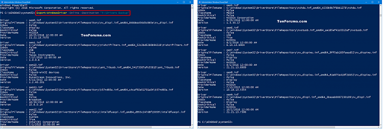 Click image for larger version.  Name:Backup_drivers_PowerShell.png Views:1680 Size:176.5 KB ID:108239