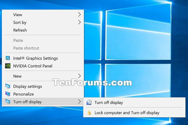 Turn Off Display cascading context menu - Add in Windows-turn_off_display_context_menu.jpg