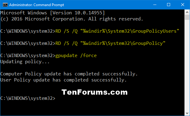 Reset Local Group Policy Editor Settings to Default in Windows 10-reset_local_group_policy_settings_command.png