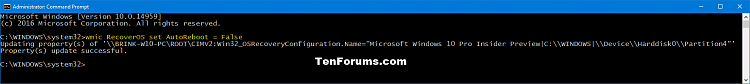 Click image for larger version.  Name:BSOD_auto_restart_off_command.png Views:18 Size:18.8 KB ID:109015
