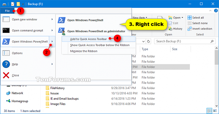 Click image for larger version.  Name:Add_PowerShell_to_Quick_Access_Toolbar.png Views:364 Size:57.5 KB ID:109131