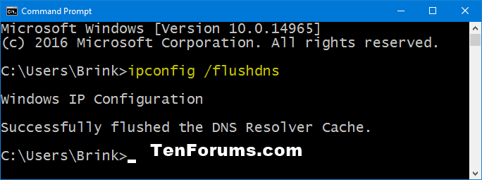 Flush DNS Resolver Cache in Windows 10-flush_dns_command.png