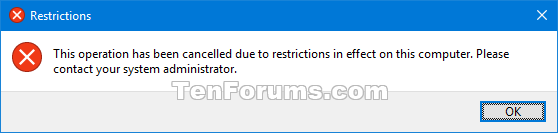 Name:  Control_Panel_Restrictions_message.png Views: 36105 Size:  6.6 KB