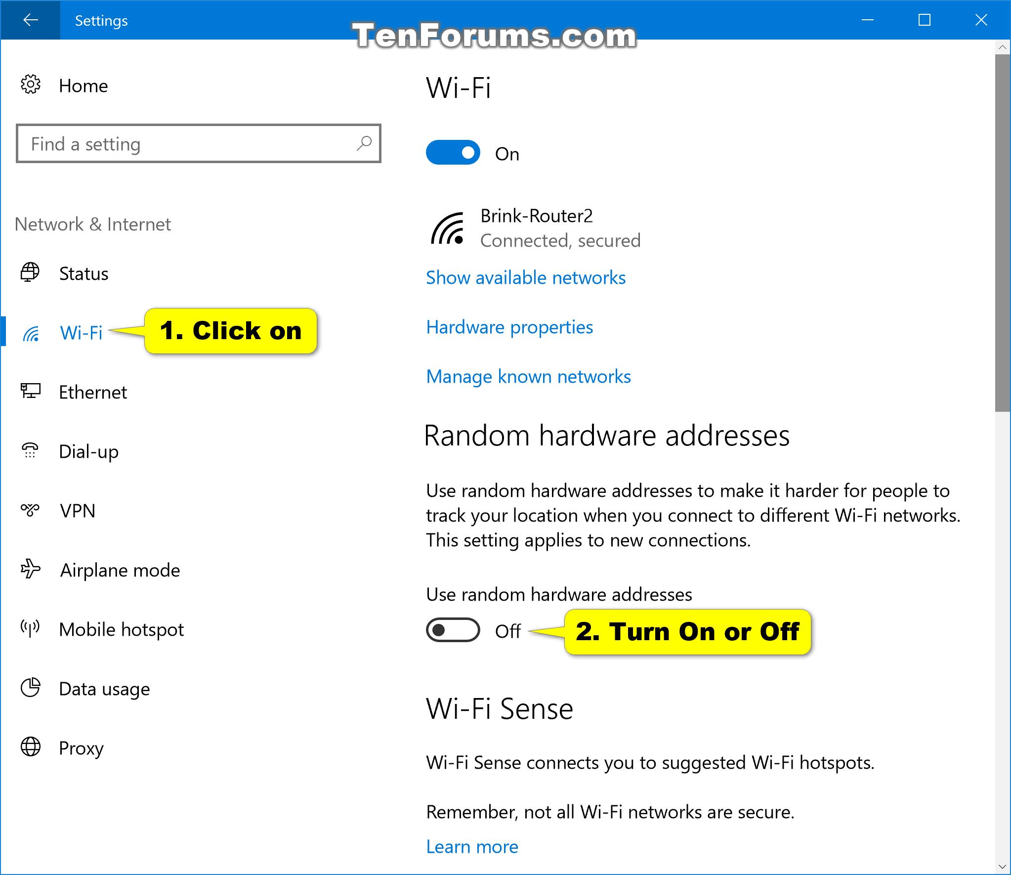 mac address windows 10