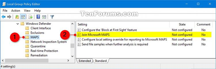 Enable Windows Defender Block at First Sight in Windows 10-join_microsoft_maps_gpedit-1.jpg