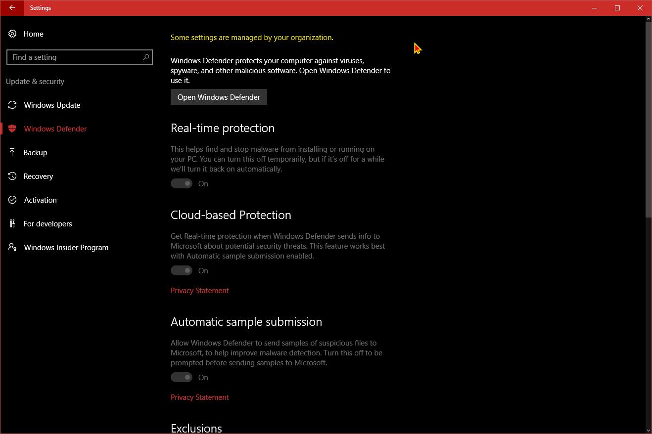 Enable Windows Defender Block at First Sight in Windows 10   Tutorials