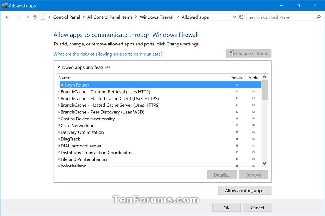 Restore Default Windows Defender Firewall Settings in