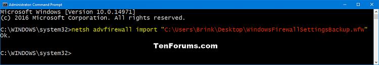 how to change firewall settings on windows 10