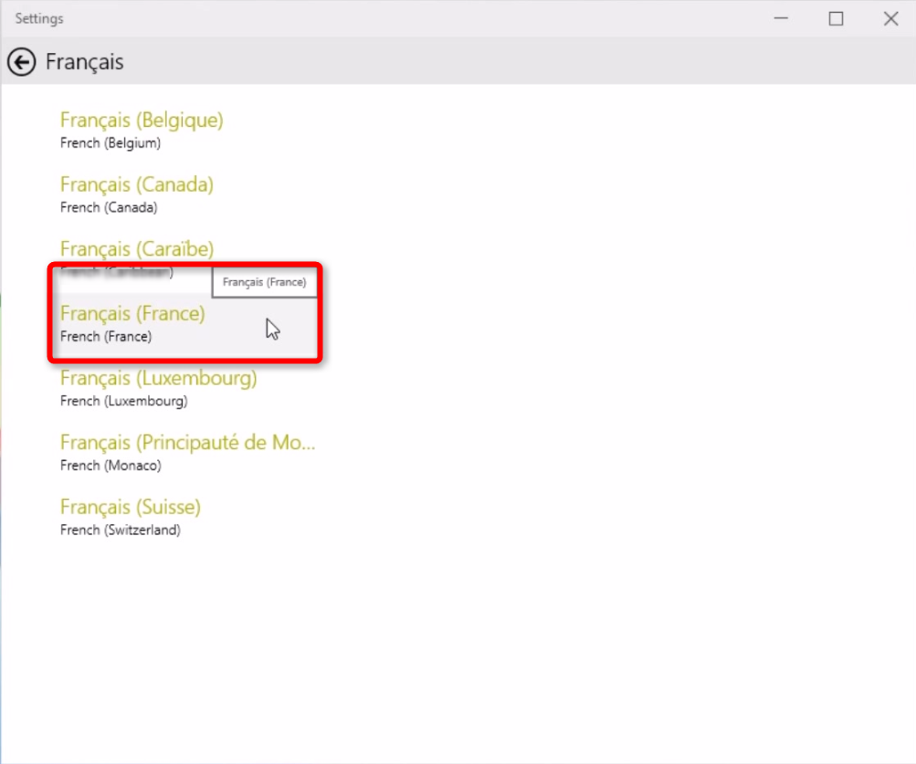 Add, Remove, and Change Display Language in Windows 10