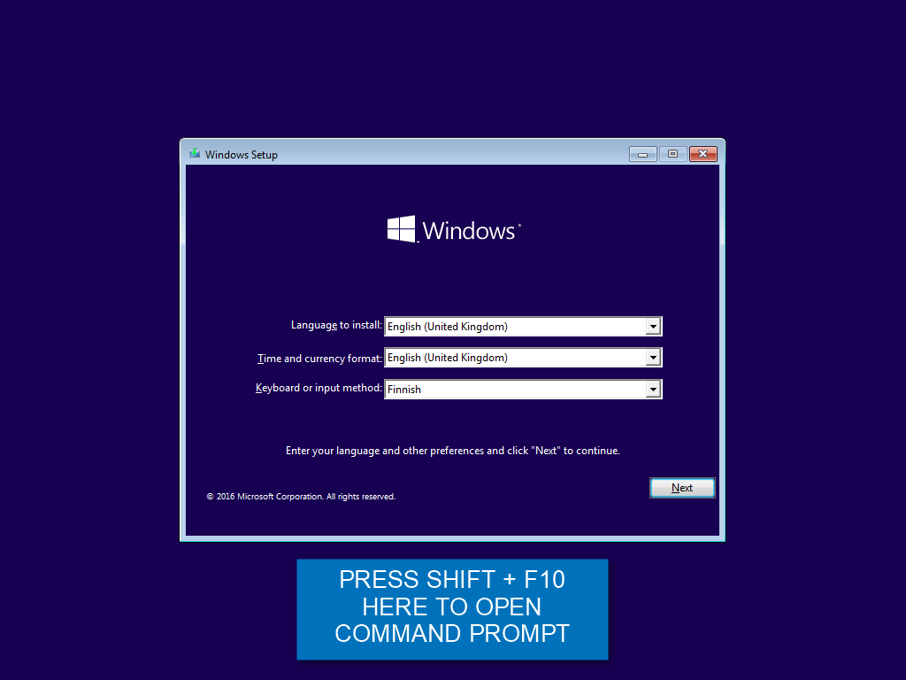 Create Windows 10 ISO image from Existing Installation
