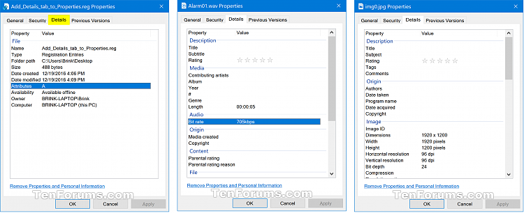 Add or Remove Details tab in File Properties in Windows 10-details_tab_in_properties.png