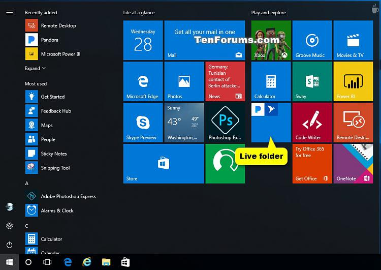 Create and Use Live Folders on Start in Windows 10-create_live_folder_on_start-2.jpg