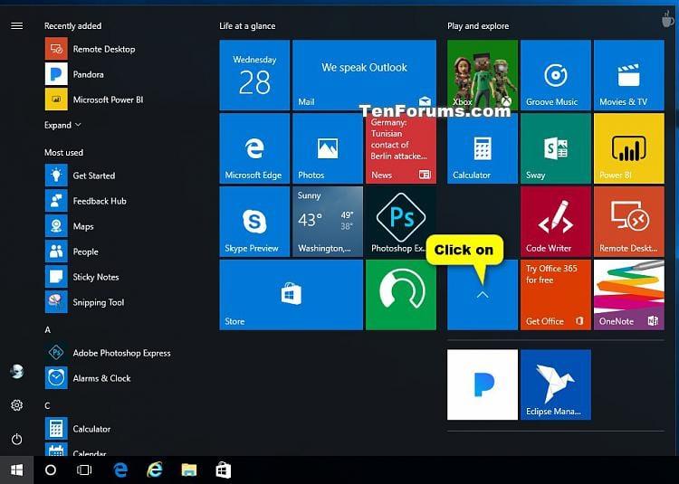 Create and Use Live Folders on Start in Windows 10-close_live_folder_on_start.jpg