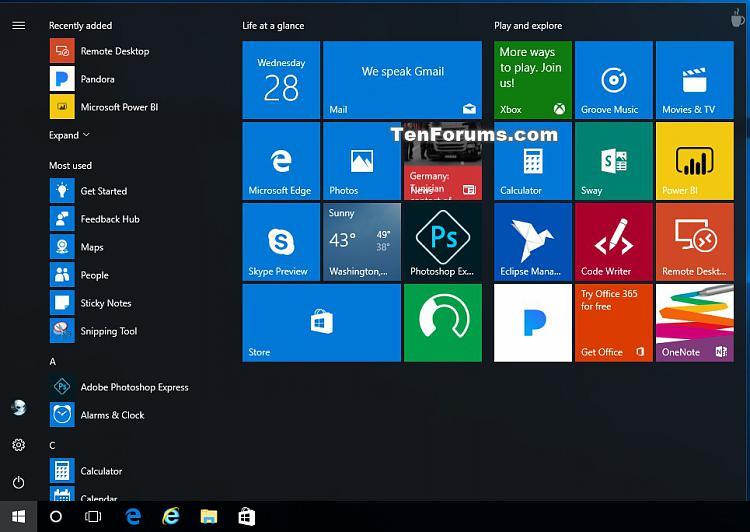 Create and Use Live Folders on Start in Windows 10-remove_live_folder_on_start-2.jpg