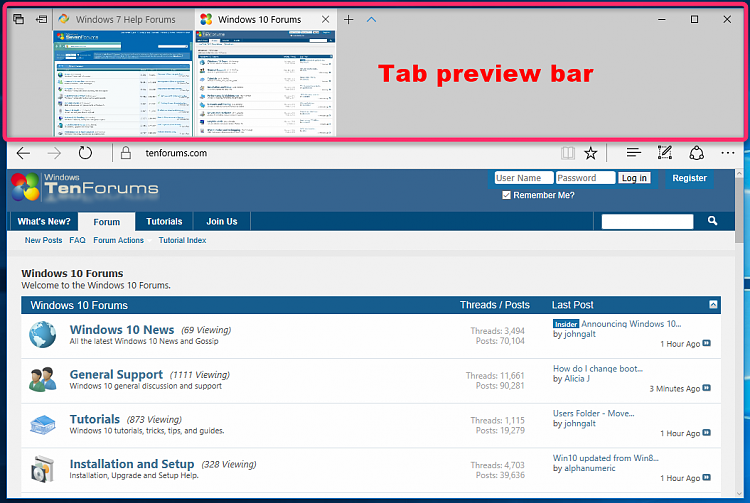 Hide or Show Tab Preview Bar in Microsoft Edge-microsoft_edge_tab_preview_bar.png