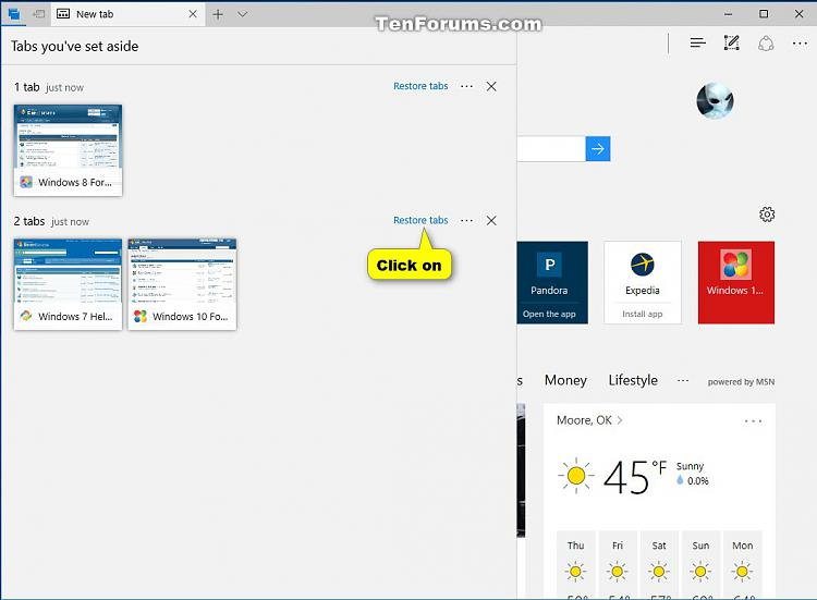 Click image for larger version.  Name:Restore_tabs_set_aside_in_Microsoft_Edge.jpg Views:286 Size:88.3 KB ID:115175