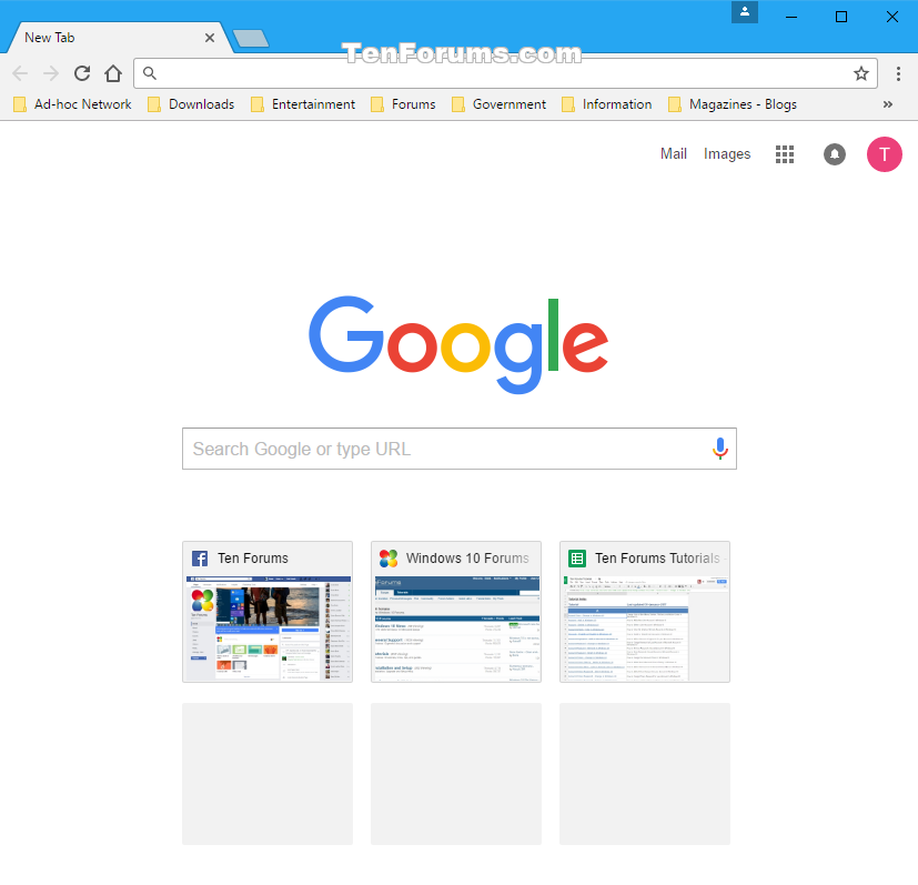 Change homepage in google chrome for windows windows 10 for Windows home page