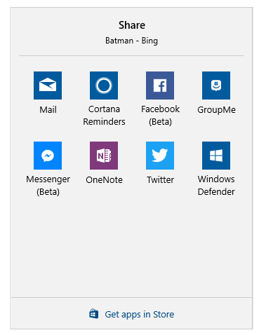 Turn On or Off Apps to Share from in Windows 10 | Tutorials