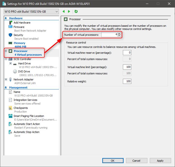 Hyper-V Quick Create - Create or Copy a Virtual Machine