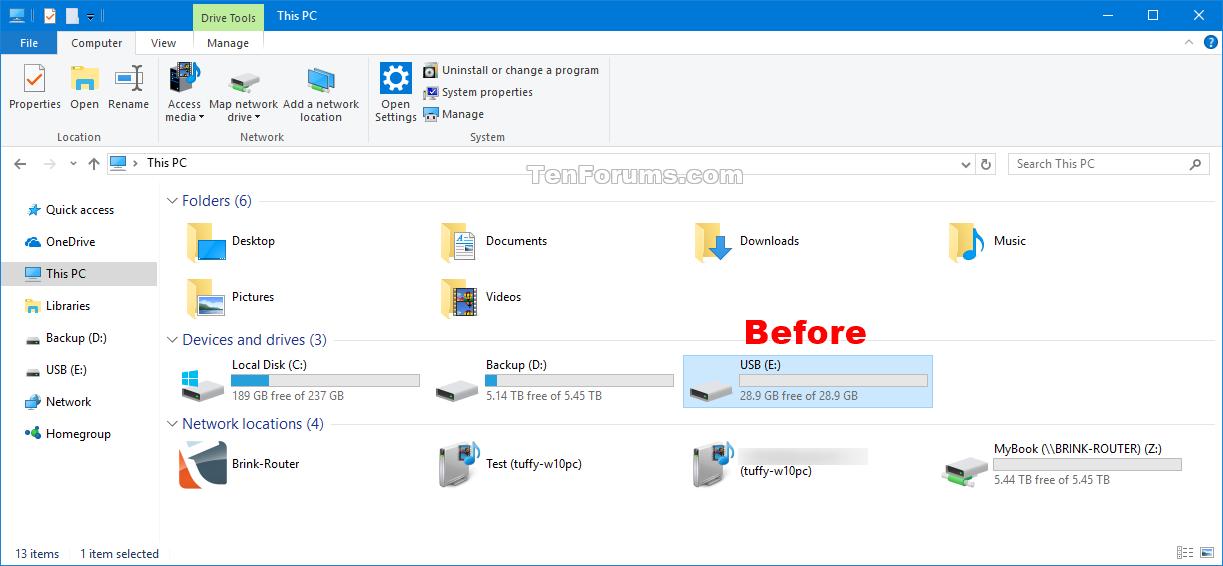 Change Drive Icon in Windows 10 | Tutorials