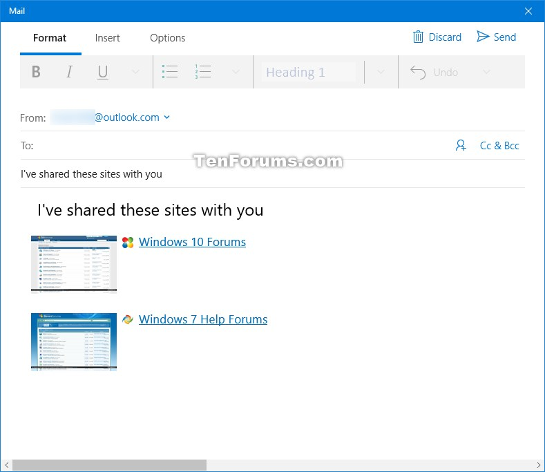 how to set microsoft mail page plus