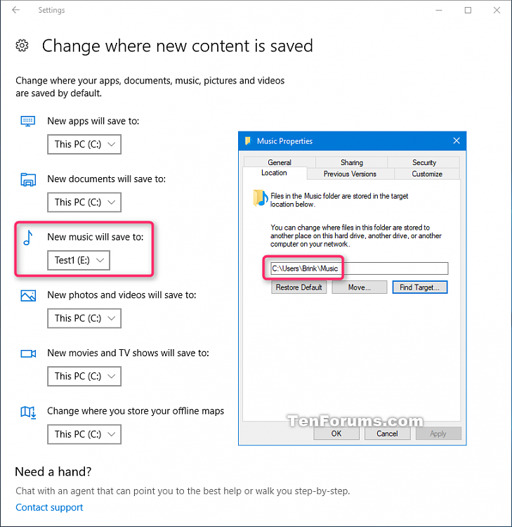 Move Location of Videos Folder in Windows 10-music.png