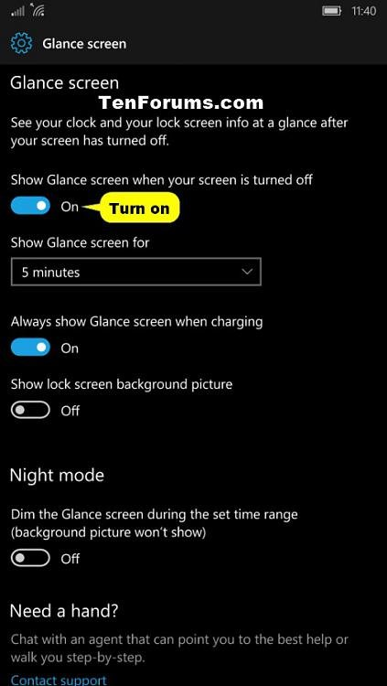 Glance Screen - Turn On or Off in Windows 10 Mobile-windows_10_mobile_glance_screen-4.jpg