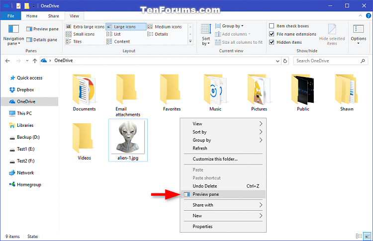 Click image for larger version.  Name:Preview_pane_context_menu-1.png Views:660 Size:100.1 KB ID:118711