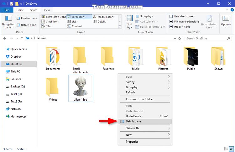 Click image for larger version.  Name:Details_pane_context_menu-1.png Views:12 Size:100.0 KB ID:118729