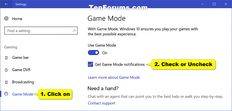 Click image for larger version.  Name:Game_Mode_notifications_Settings.png Views:829 Size:96.0 KB ID:118806