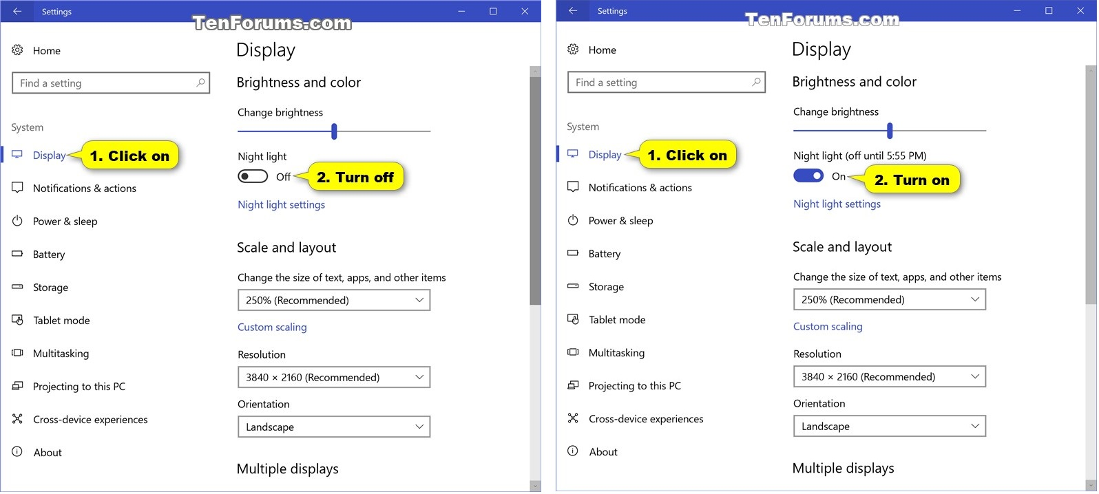 how to turn off web filter windows 10