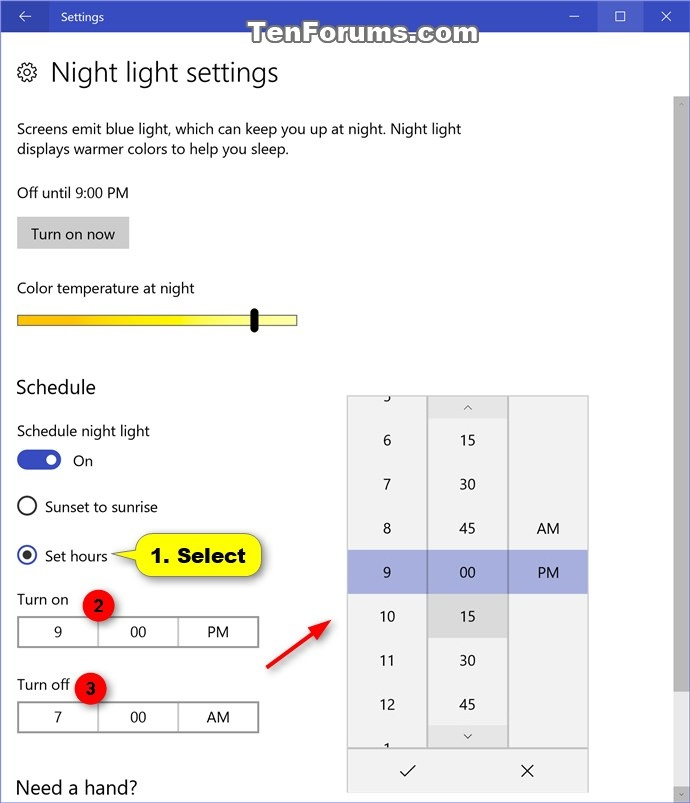windows 10 how to turn off keyboard light