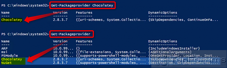 PowerShell PackageManagement (OneGet) - Install Apps from Command Line-2015-02-04_07h27_28.png